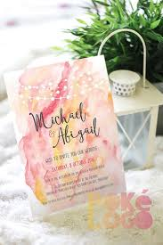 best 25 watercolor wedding invitations ideas only on pinterest How To Make Watercolor Wedding Invitations watercolor wedding invitation set, coral pink yellow watercolour, diy, printable, digital, invite, fairy lights string lights, watercolor Wedding Invitation Templates