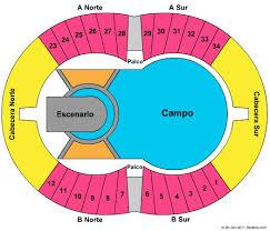 U2 Seating Chart Las Vegas Estadio Ciudad De La Plata Tickets In La Plata Buenos Aires