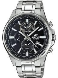 casio watches view the creative watch co range casio men s edifice steel world time classic watch