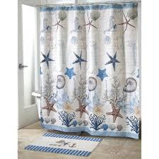 Nautical Bathroom Set Antigua Nautical Bath Set 5 Piece Coastal Decor Shower Curtain