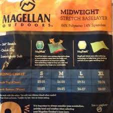 Nwt S Boys Magellan Base Layer Bottoms Nwt