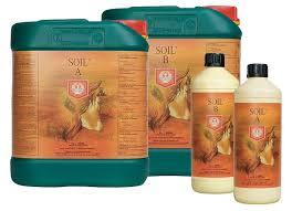 house garden soil nutrient a b