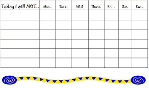 Free Behavior Charts For Kids To Download And Help With