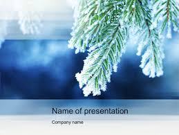 Winter Powerpoint Winter Powerpoint Template Backgrounds 10493