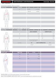 Spidi Size Chart