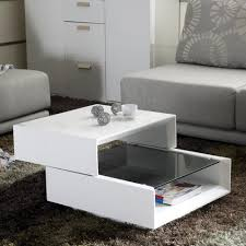 Space Saving Coffee Table Living Room Expandable Coffee Table Design Under Storage In