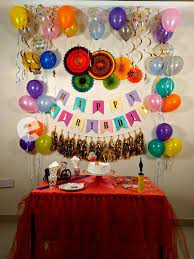 decoration for birthday party