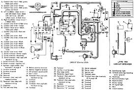 harley davidson wiring diagrams and schematics 1965 67 electra glide