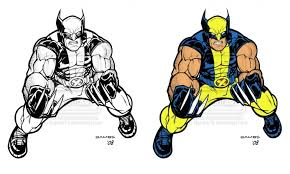 Small Picture Wolverine Coloring Pages Coloring Pages Ideas Reviews