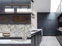 Modern Black Kitchen Cabinets Modern Traditional Kitchen Dark Wood Kitchen Cabinets Marble