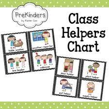 Helpers Chart Class Helpers Chart 826712 Teaching Resources Clip Art Library