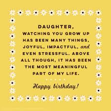 40 Birthday Wishes For Daughters Find The Perfect Birthday Wish Magnificent Happy Birthday Quotes For Daughter