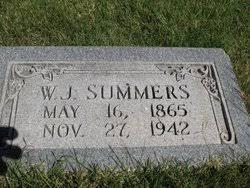 William Julian Summers (1867-1942) - Find A Grave Memorial