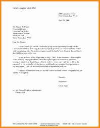 letter to accept job form letter via email copy 11 accepting a job offer via email sample