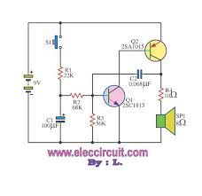 simple audio alarm with transistor electronic projects circuits Simple Alarm Circuit Diagram simple audio alarm with transistor simple alarm circuit diagram with relay