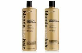 <b>Blonde Sexy Hair Sulfate</b>-<b>Free</b> Bombshell <b>Blonde</b> Daily Color ...