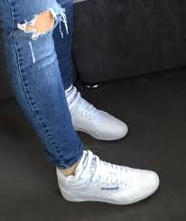 reebok high tops. my reebok classics high top white!! love them ! tops r