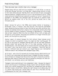 samples of formal essays pdf format  formal essay example