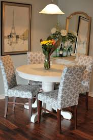 dining table parson chairs interior: how to recover a parson chair aplaceofgratitudeblogspotcom