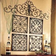wrought iron wall decor square wrought iron wall grille decor medallions more wrought iron wall decor