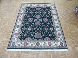 green oriental rug 9 x hand knotted green design oriental rug emerald green oriental rugs