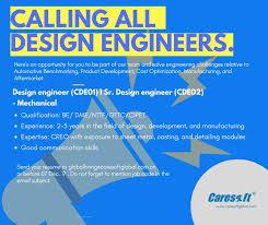 Manufacturing Design Engineer Sample Resume Extraordinary Design Engineers And Sr Design Engineers Automotive Benchmarking