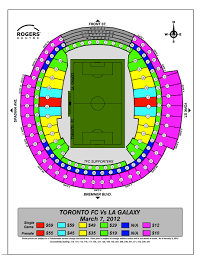 Galaxy Seating Chart Toronto Fc V Los Angeles Seating Chart Released Waking The Red