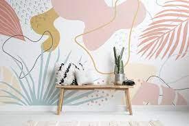 Leaves Tropical Wallpaper Mural ...
