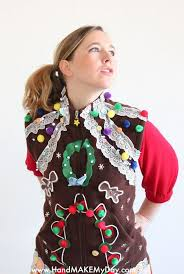Ugly Christmas Sweater Ornaments  Aunt PeachesUgly Christmas Sweater Craft Ideas