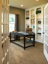 carpet for home office. Traditional Home Office With Pier 1 Blythe Curtain - Brown, Liberty Furniture Kingston Plantation Writing Carpet For E