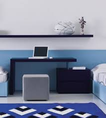 office decors. White Office Decors. Awesome Home With Blue Wall Decor Simple Desk And Grey Decors