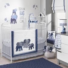 nursery elephant crib bedding set