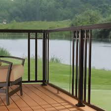Design Deck Railing Options Railing Stairs And Kitchen Design Glass Deck Railing Home Depot