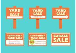 Free Yard Sale Signs Yard Sale Sign Free Vector Art 42 Free Downloads