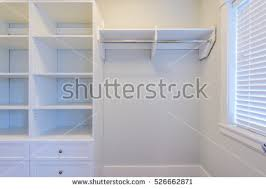 Empty Closet Working Closet Cupboard Bedroom Stock Photo Royalty