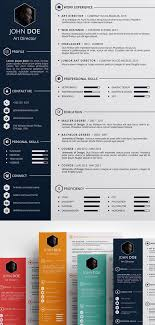 Modern Unique Resume Modern Resume Template Professional Resume Template