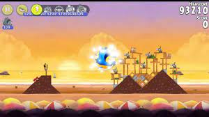 Angry Birds Rio Golden Beachball All levels - YouTube