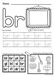 Printable worksheets for teaching students to read and write basic words that begin with the letters br, cr, dr, fr. Consonant Blends Worksheets Easy Prep Printables By From The Pond