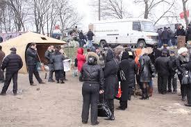 datalife engine > Версия для печати > Война закончена Всем  За пять дней забастовки на Киевской трассе вырос полевой лагерь протестующей армии со всей положенной инфраструктурой и атрибутикой