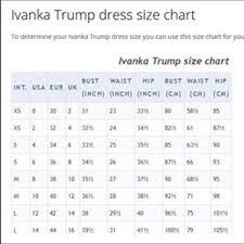 Ivanka Trump Plus Size Chart Ivanka Trump Floral Dress Nwt