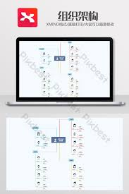 Cute Chart Template Simple Cute Organization Chart Xmind Template Word
