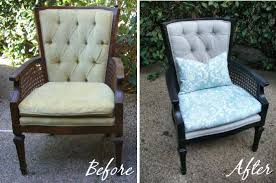How to reupholster an occasional chair