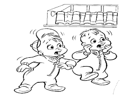 Small Picture Alvin and the Chipmunks coloring page Cartoon Coloring Pages
