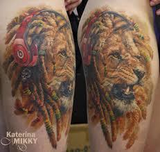 эскизы тату лев на руке ноге груди плече и предплечье фото