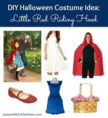 3 diy costume ideas little red riding hood through for 2 more
