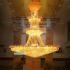 creative of big chandelier lights led big gold crystal chandelier lights fixture modern crystal