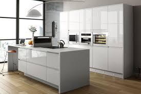 Shiny White Kitchen Cabinets Gloss White Kitchen Cabinets