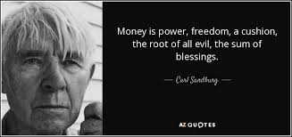 Greed is the root of all evil essay