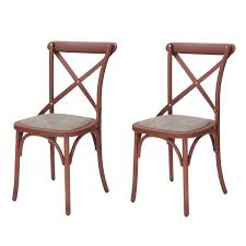 cross back dining chairs. Joveco Econ-Friendly Nylon Vintage-Style Dining Chair Curved Leg Cross Back, Back Chairs