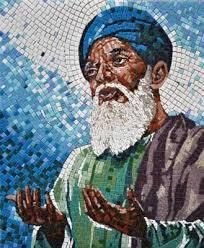 mosaic tile art projects.  Art Baba Farid Ji Mosaic Portrait With Mosaic Tile Art Projects E